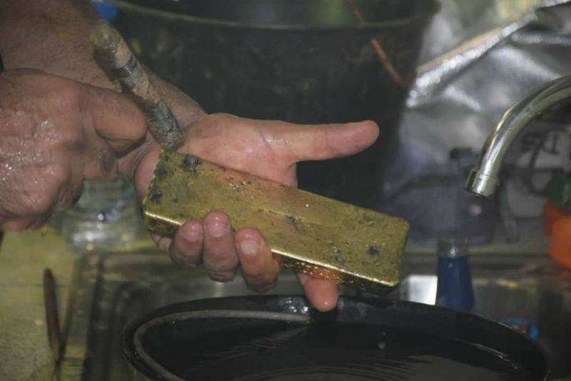 """The """"Metal Hands"""" operation looks to counter the illegal smuggling of gold, silver, and bronze out of Venezuela"""